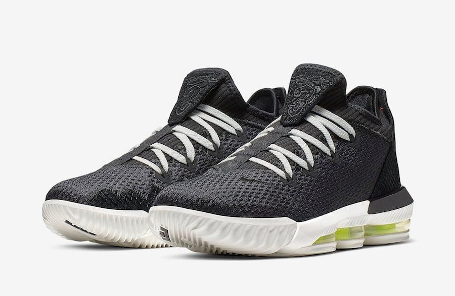 Nike LeBron 16 Low Black Python White CI2668-004 Release Date Info