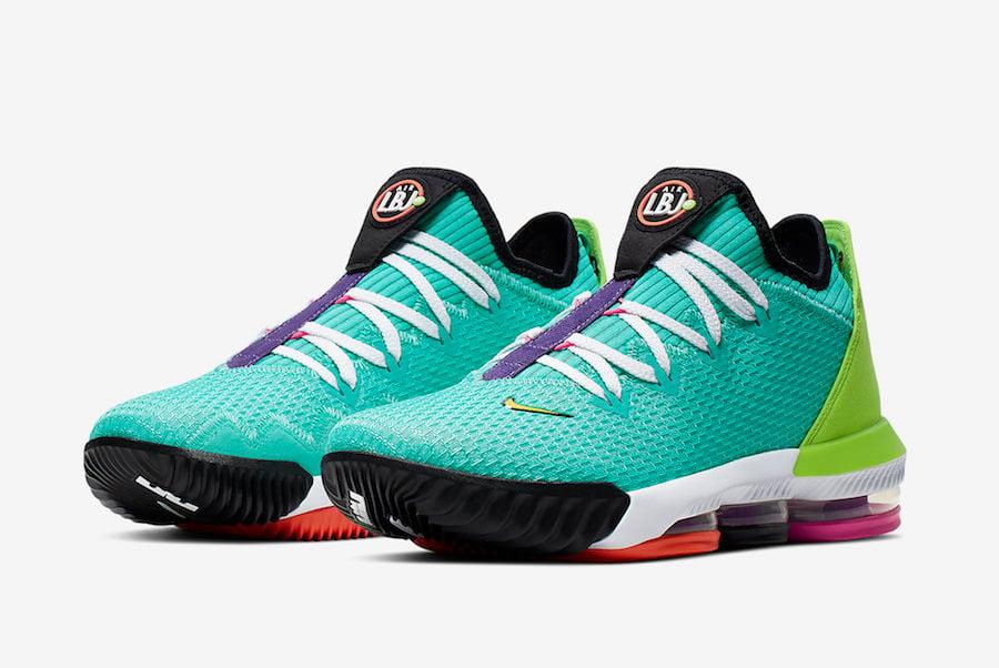 Nike LeBron 16 Low Hyper Jade CI2668-301 Release Date Info