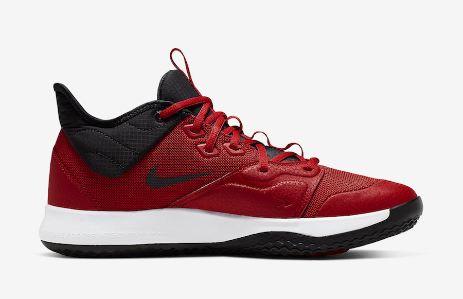 Nike PG 3 University Red AO2607-600 Release Date Info