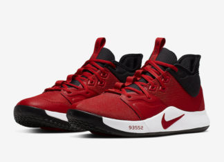 Nike PG 3 University Red AO2607-600 Release Date Info