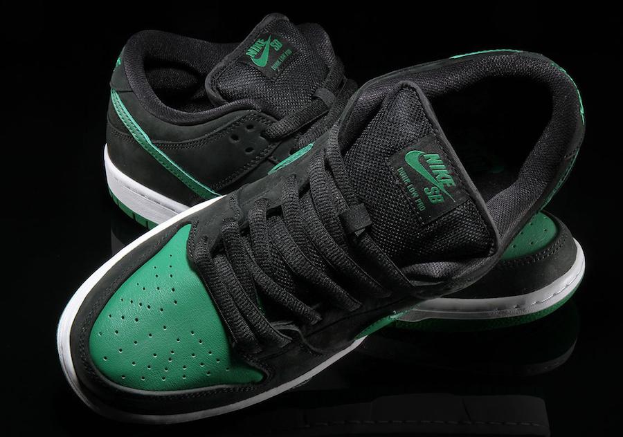 Nike SB Dunk Low J-Pack Black Pine Green BQ6817-005 Release Date Info