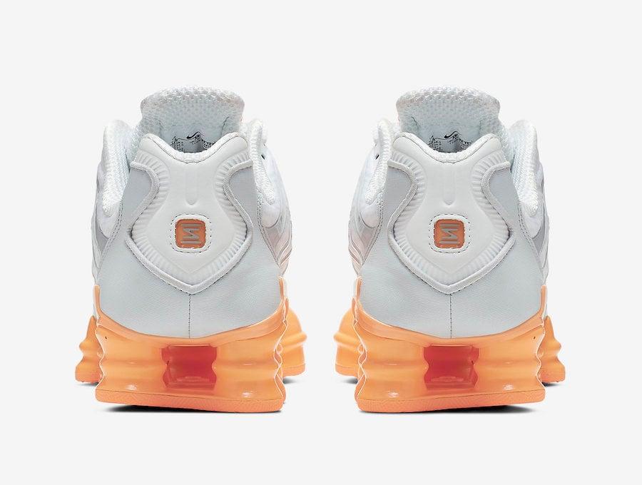 Nike Shox TL Fuel Orange AR3566-101 Release Info