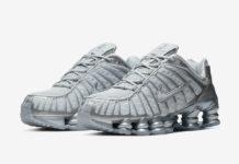 Nike Shox TL Pure Platinum Chrome AV3595-003 Release Info