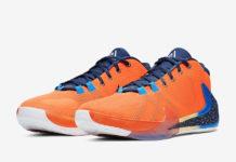 Nike Zoom Freak 1 Total Orange BQ5422-800 Release Date Info