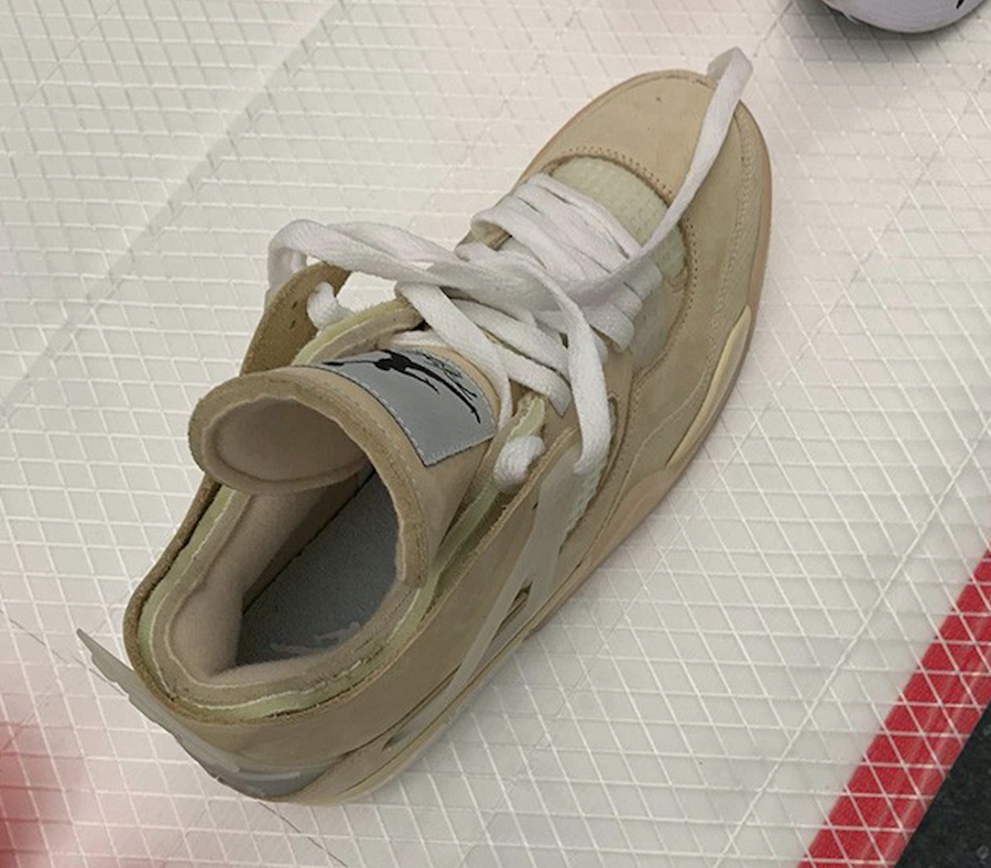 Off-White Air Jordan 4 Samples