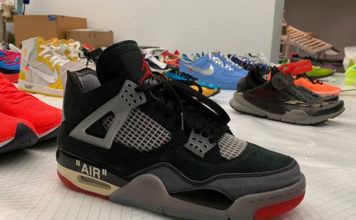 Off-White Air Jordan 4 Samples