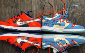 Off-White Futura Nike Dunk Low Release Date Info