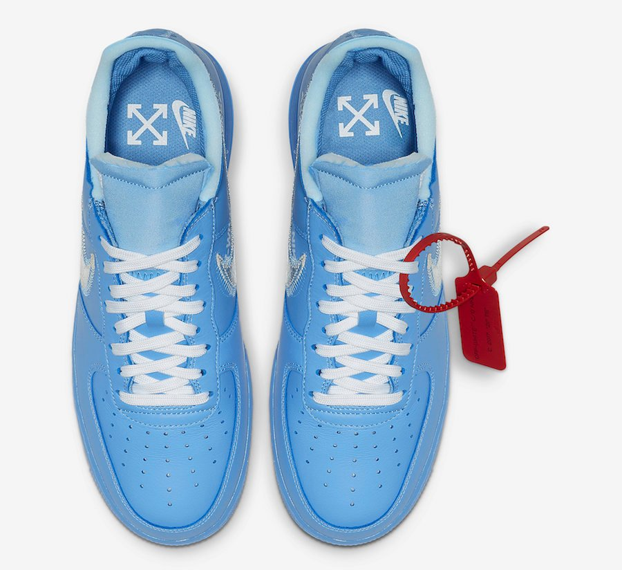2air force 1 azzurre