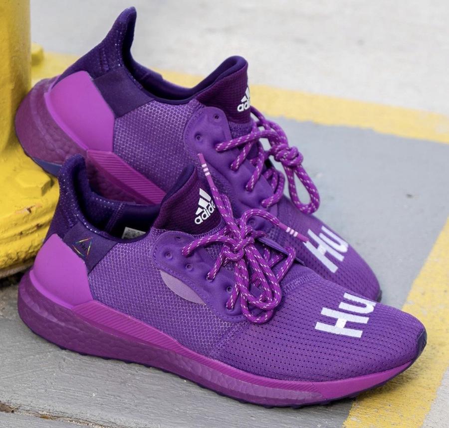 Pharrell adidas Solar Hu Glide Purple Release Date Info