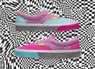 size Vans Era Warped Check Release Info