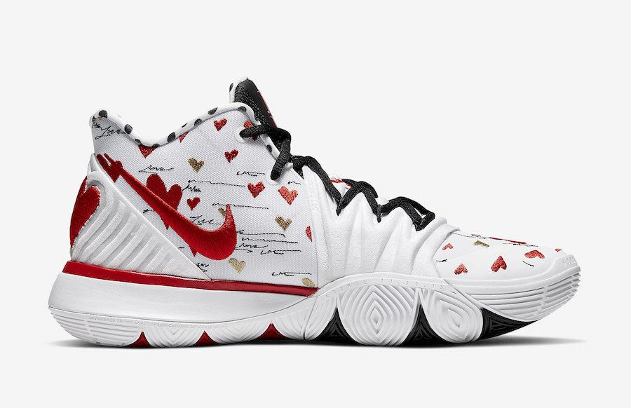 Sneaker Room Nike Kyrie 5 CU0677-100 Release Date