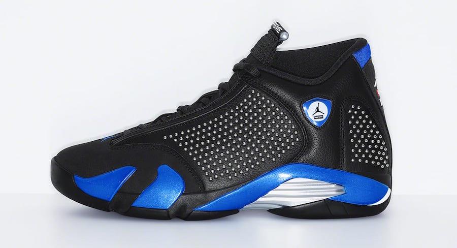 Supreme x Air Jordan 14 Release Details