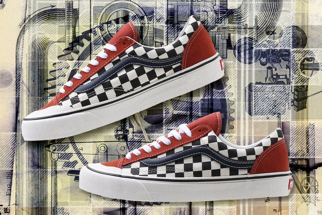 Vans Style 36 SF Two Tone Salt Wash Checkerboard Release Info