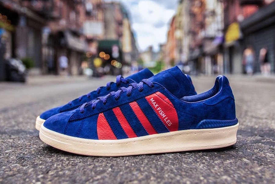 adidas is Celebrating the 30th Anniversary of Max Fish with Campus Vulc