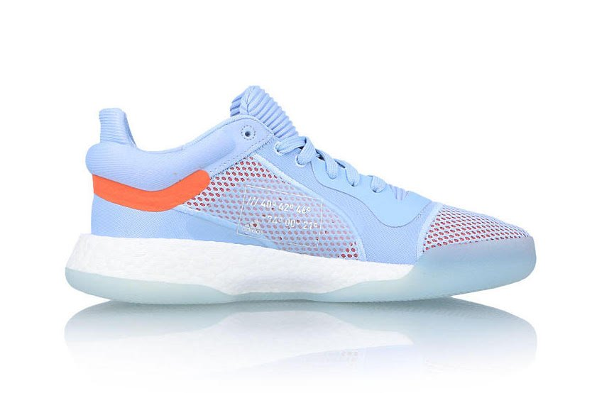 adidas Marquee Boost Low Glow Blue G26215 Release Date Info