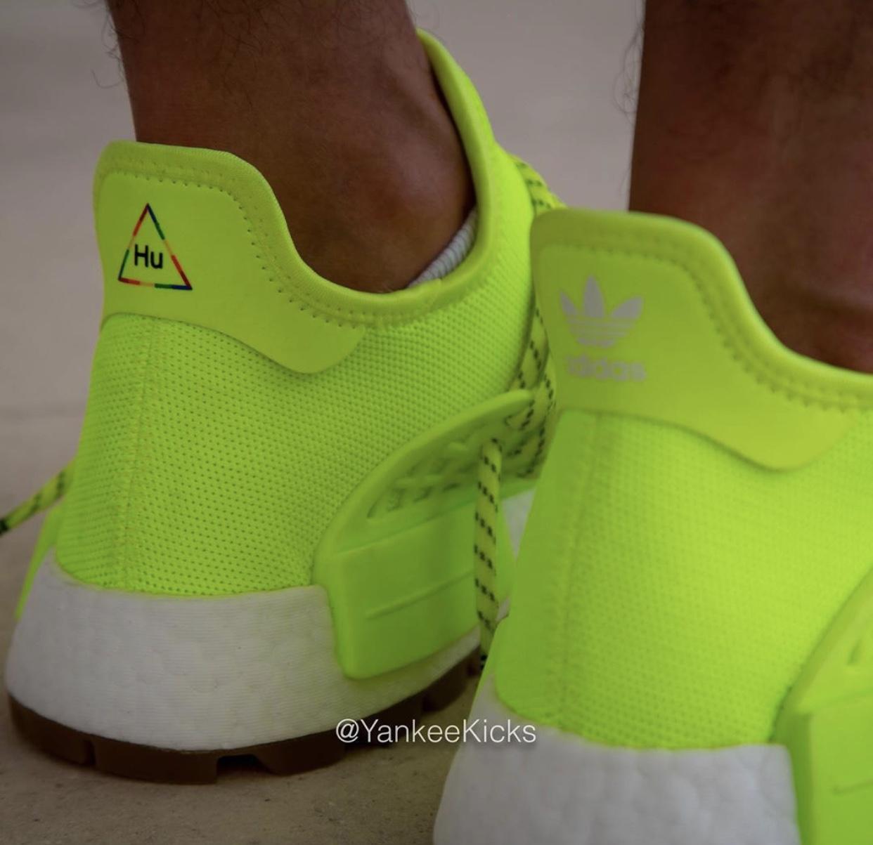 adidas NMD Hu Trail Know Soul Volt Gum On Feet