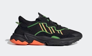 adidas Ozweego Black Orange Green EE5696 Release Date Info