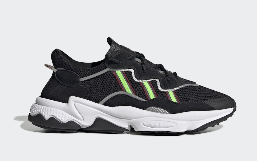 adidas Ozweego Black Solar Green EE7002 Release Date