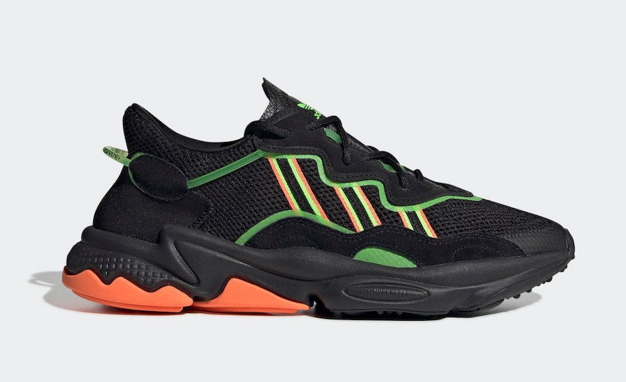 adidas Ozweego Core Black Solar Green EE5696 Release Date