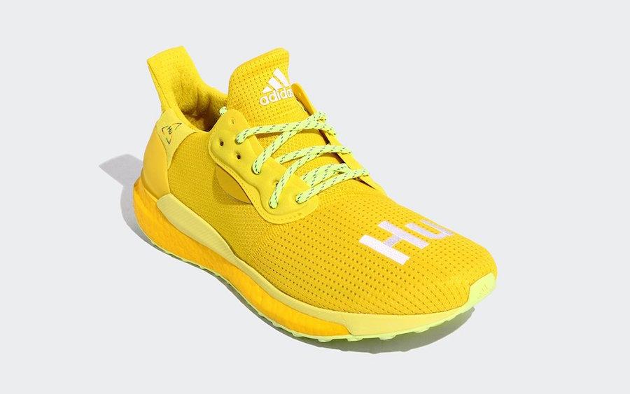 adidas Solar Hu Glide Yellow EF2379 Release Date Info