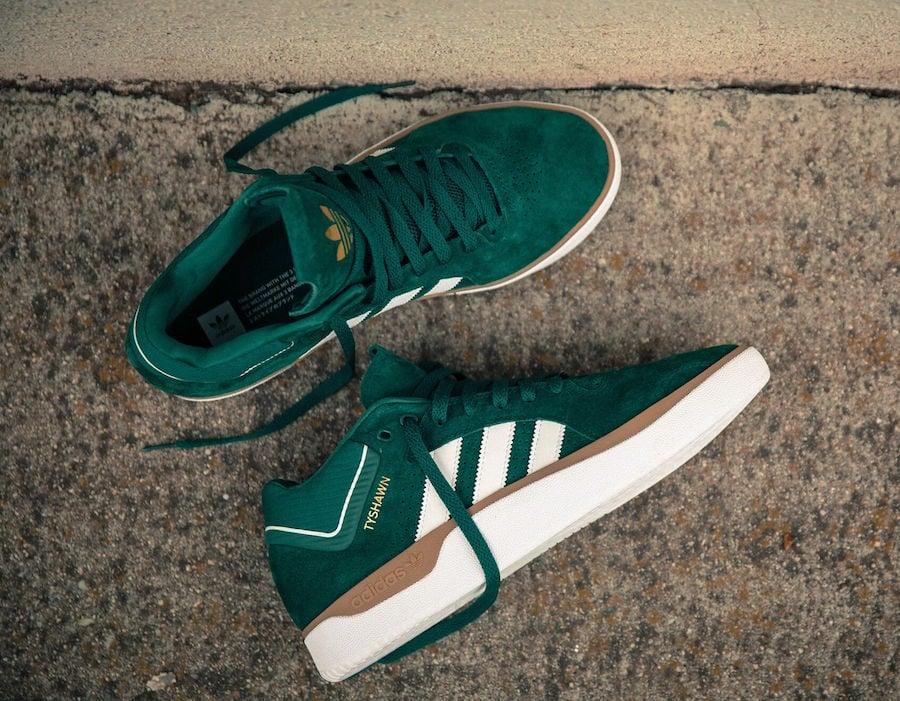 adidas Tyshawn Collegiate Green EE6078 Release Date Info
