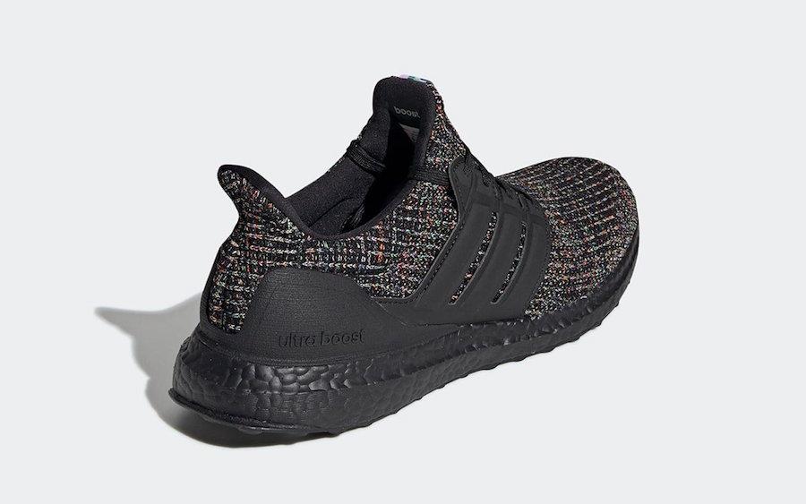 adidas Ultra Boost Black Multi G54001 Release Date Info