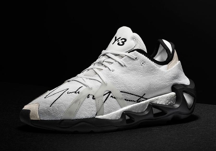 adidas Y-3 FYW S-97 White EF2626 Black EF2627 Release Date Info
