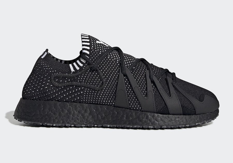 adidas Y-3 Raito Racer Black EF2562 Release Date Info