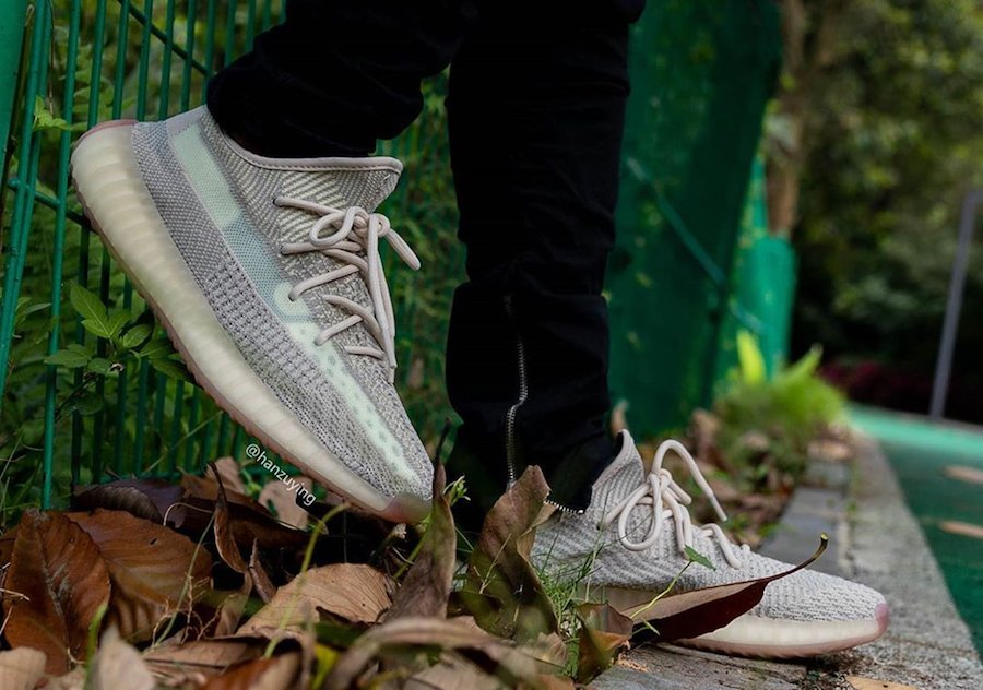 adidas Yeezy Boost 350 V2 Citrin FW3042 On Feet Release Date