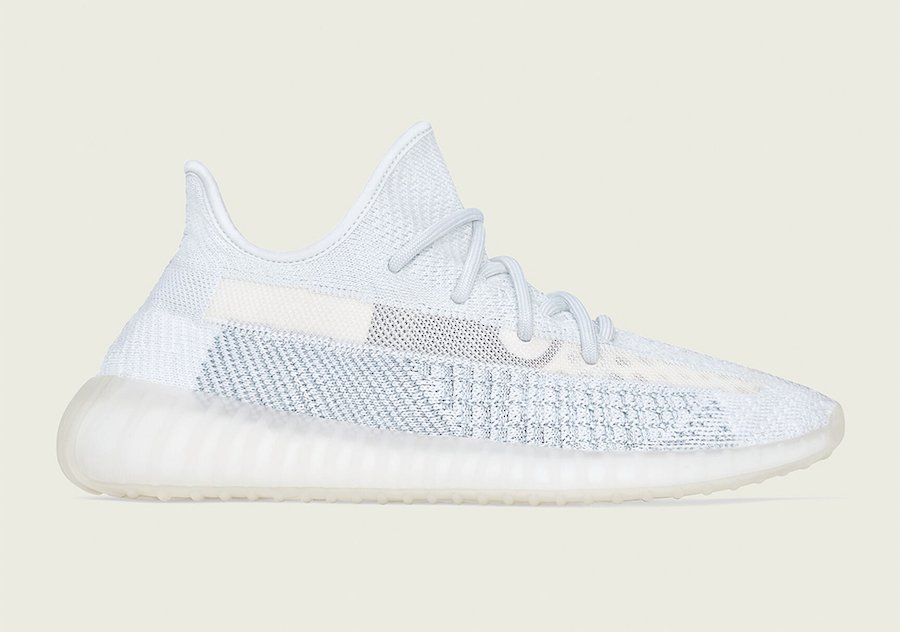 adidas Yeezy Boost 350 V2 Cloud White FW3043 Release