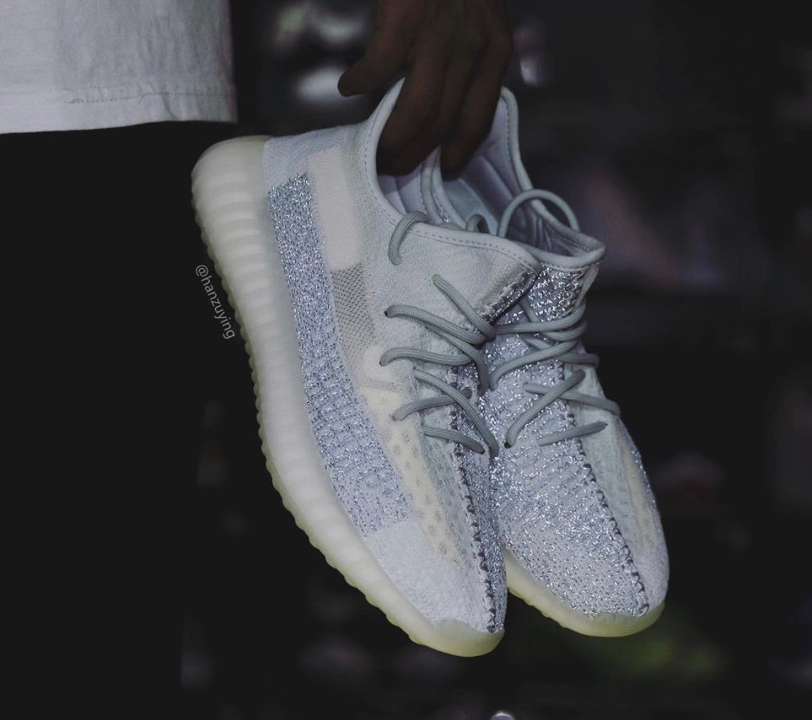 adidas Yeezy Boost 350 V2 Cloud White Reflective Release Date