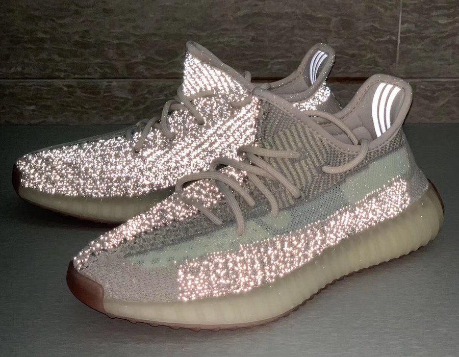 adidas Yeezy Boost 350 V2 Reflective Citrin Release Date Info