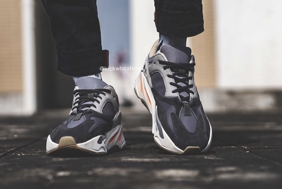adidas Yeezy Boost 700 Magnet On Feet Release Date
