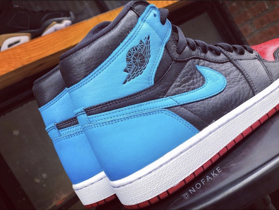 Air Jordan 1 High OG UNC to Chicago WMNS CD0461-046 2020 Release Date