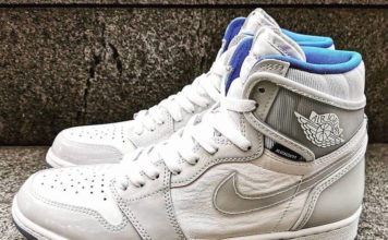 Air Jordan 1 High Zoom R2T White Racer Blue CK6637-104 Release Date