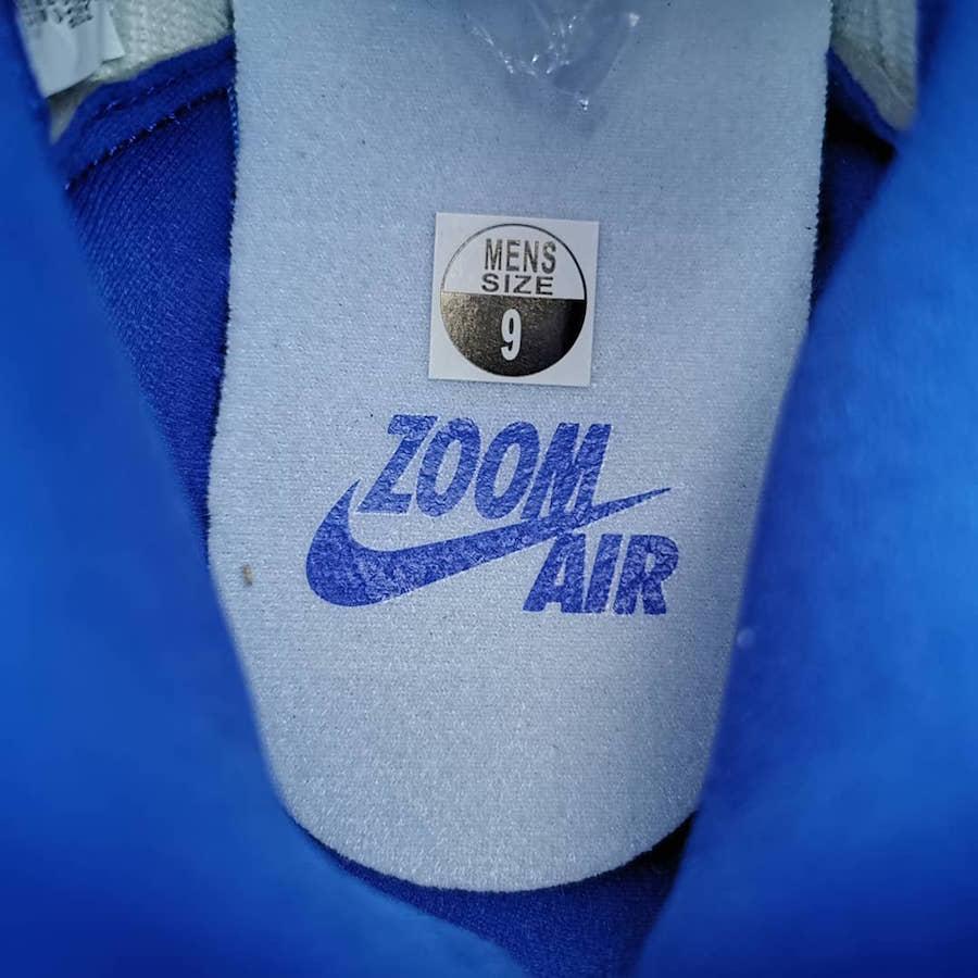 Air Jordan 1 High Zoom R2T White Racer Blue CK6637-104 Release Date