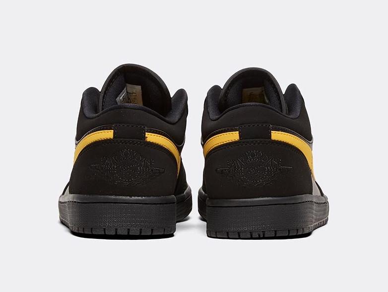 Air Jordan 1 Low Black Gold Release Date Info