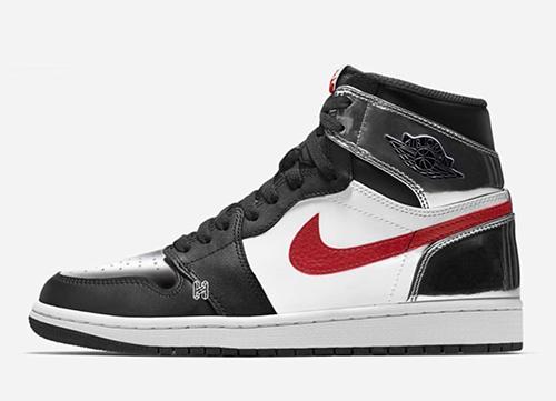 Air Jordan 1 Metallic Silver Gym Red Black Release Date