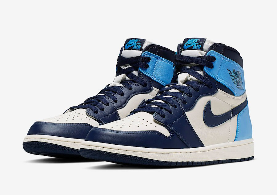 Air Jordan 1 Obsidian University Blue 555088-140 Release Details