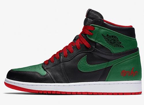 Air Jordan 1 Pine Green Gym Red Release Date