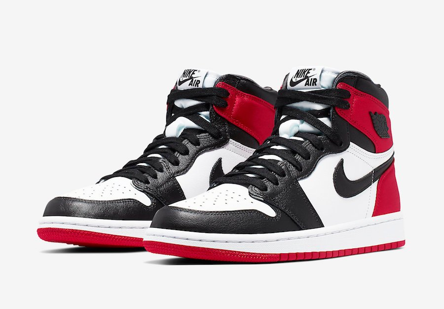 Air Jordan 1 Satin Black Toe CD0461-016 Release Date Info