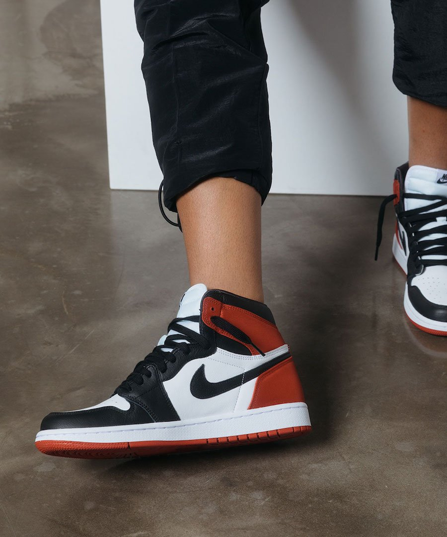 Air Jordan 1 Satin Black Toe Release Date