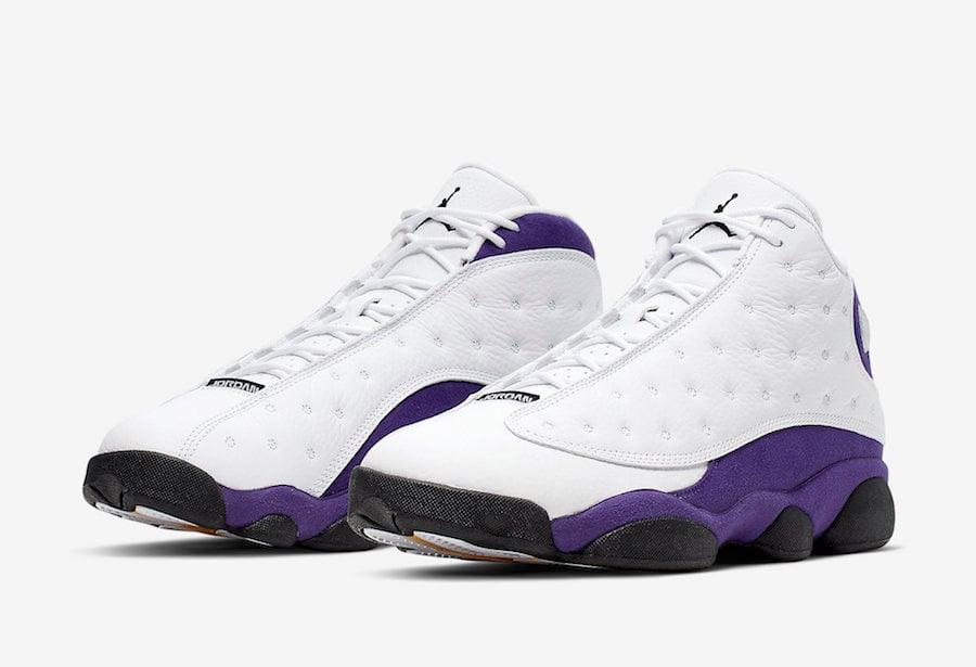 Air Jordan 13 LA Lakers 414571-105 Release Date Info