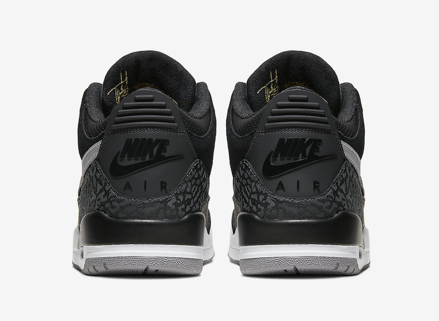 Air Jordan 3 Tinker Black Cement Grey CK4348-007 2019 Release Info