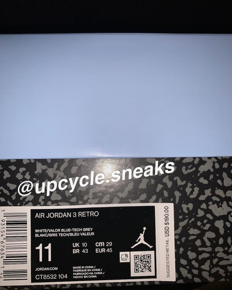 Air Jordan 3 UNC CT8532-104 Release Date