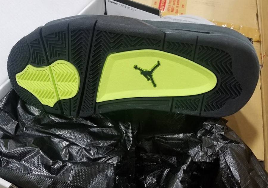 Air Jordan 4 Air Max Neon GS CT5343-007 Release Date