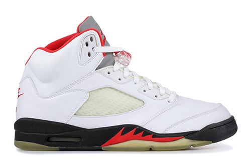 Air Jordan 5 Fire Red 3M Silver Tongue Release Date