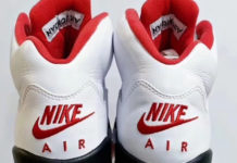 Air Jordan 5 Fire Red Nike Air 2020