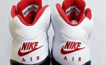 Air Jordan 5 Fire Red Nike Air 2020