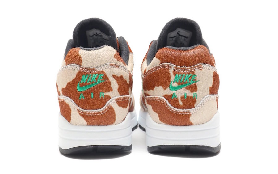atmos Nike Air Max 1 DLX Animal 3.0 Pack Cow AQ0928-902 Release Date Info